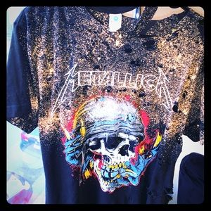 Metallic disarm custom t shirt